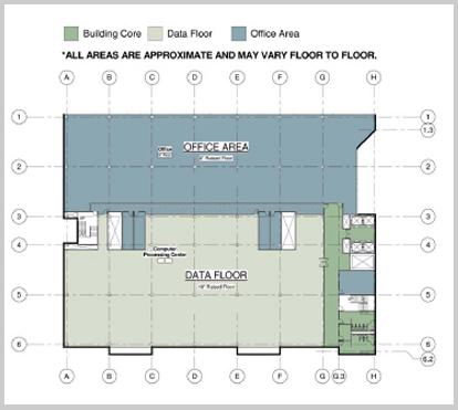 Data center floor plan data center floor plan denver for Data center floor plan
